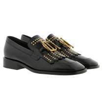 Schuhe CD Studded Slippers Black schwarz