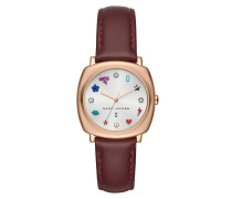 Uhr MJ1598 Mandy Classic Watch Silver/Rosegold rot