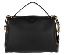 Tote Glovetan Leather Laural Frame Bag Black schwarz