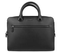 Harrison MD FT Zip Briefcase Black Herrentasche
