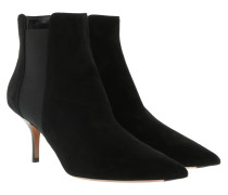 Essentials Chelsea Boot Suede Black Schuhe