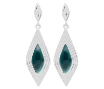 Ohrringe Earrings Calla-03-03 Marble Green