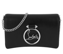 Rubylou Clutch Leather All Black Tasche