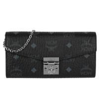 Patricia Visetos 2 Fold Wallet Black