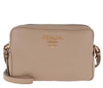 Double Zipper Shoulder Bag Cammeo Tasche