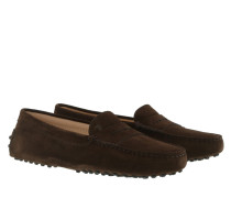 Penny Loafer With Dimples Marrone Africa Schuhe
