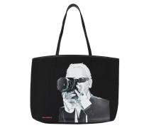Shopper Legend Photographer Tote Bag Black