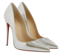 So Kate Laminato Dino Pump Silver Pumps