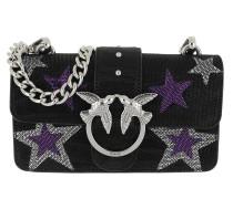 Umhängetasche Mini Love Stars Crossbody Bag Nero Limousine schwarz