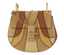 Drew Patchwork Crossbody Bag Mini Caramel Tasche