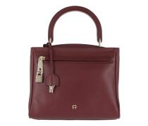 Betty Handbag S Burgundy Satchel Bag