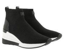 Skyler Bootie Black Sneakers