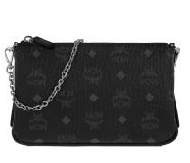Millie V W-R32 Medium Zip Crossbody Black Tasche