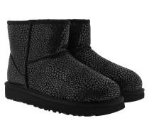 W Classic Mini Glitzy Black Schuhe