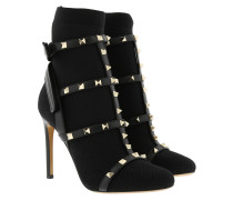 Rockstud Boots Nero Schuhe