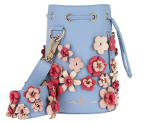 Kasper Flower Bucket Bag Sky Blue Beuteltasche