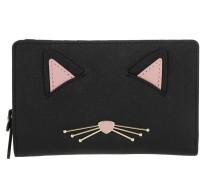 Cat's Meow Cat Dara Wallet Blackmulti