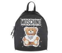 Logo Bear Backpack Black Rucksack