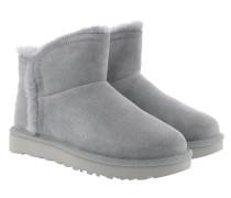 Boots W Classic Mini Fluff High-Low Geyser grau