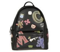 Tasche - Stark Firmament Backpack Medium Black - in schwarz