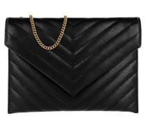 Umhängetasche Tribeca Chain Wallet Leather Black schwarz