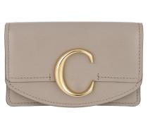 Portemonnaie Tess Credit Card Holder Grey beige