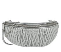 Gürteltasche Matelasse Belt Bag Leather Cromo silber