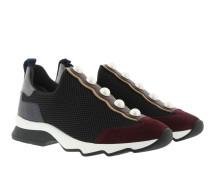 Slip On Sneaker Mesh Black Sneakers