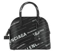 Tote Ville Tophandle Bag S Allover Print Noir schwarz