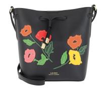 Dryden Drawstring Bag Black/Multi Floral Tasche