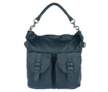 MargoO7 Vintag Dark Blue Hobo Bag