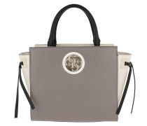 Open Road Society Satchel Taupe Multi Tote
