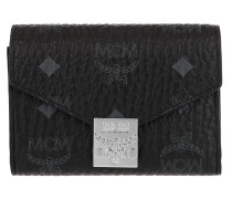 Patricia Visetos Flap Wallet Small Black