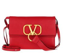 Umhängetasche Vring Crossbody Bag Leather Red