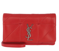Jamie Chain Wallet Patchwork Rouge Eros