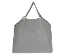 Falabella Small Tote Shaggy Deer Light Grey