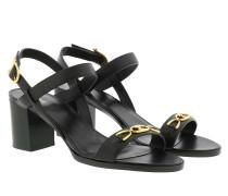 Sandalen Triomphe Sandals Leather Black