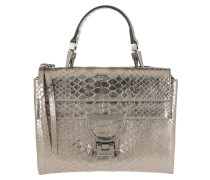 Arlettis Metal Python Crossbody Bag Fume Metal Tasche