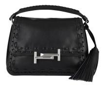 Amu Messenger Piccola Leather Nero Tasche