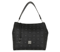 Hobo Bag Klara Visetos Hobo Medium Black schwarz