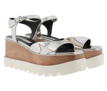 Elyse Star Platform Sandals Indium/White Sandalen