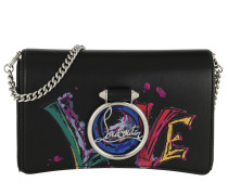 Rubylou Clutch Leather Black Tasche