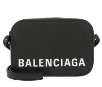 Umhängetasche Ville Camera Bag XS Leather Black schwarz