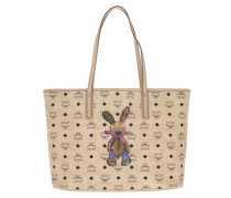 Rabbit Top Zip Shopper Medium  Shopper