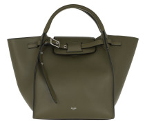 Tote Small Big Bag Smooth Calfskin Army Green grün