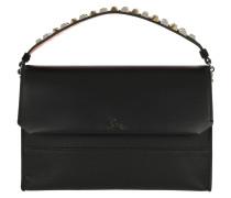 Satchel Bag Loubiblues Clutch Leather Black schwarz