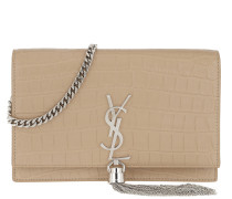 Kate Monogramme Chain Clutch Sable  Tasche