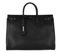 Sac De Jour Souple Bag Large Leather Black Tote