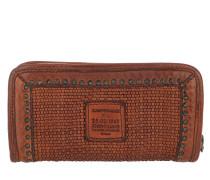 Braided Leather Wallet  Portemonnaie