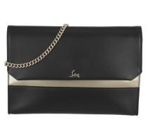 Spike Loubiblues Clutch Leather Black Tasche